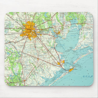Houston Texas Mouse Pad