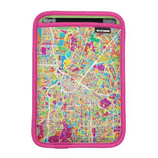 Houston, Texas | Neon Map iPad Mini Sleeves