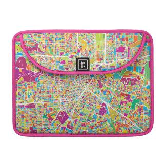 Houston, Texas | Neon Map MacBook Pro Sleeves
