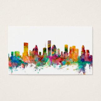 Houston Texas Skyline Business Card