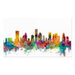 Houston Texas Skyline Business Card Template