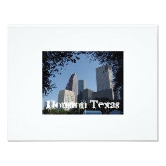 Houston Texas Skyline Card
