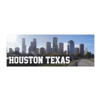 Houston Texas Skyline - Extra Large Canvas Canvas Print