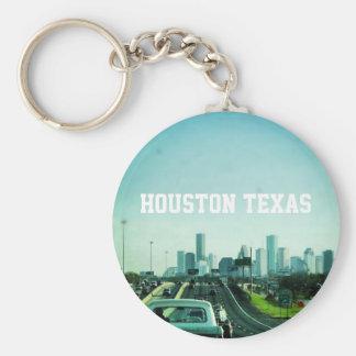 Houston Texas Skyline (Keychain) Key Ring