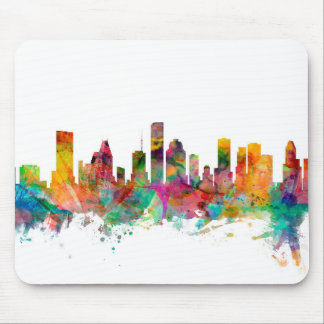 Houston Texas Skyline Mouse Pad