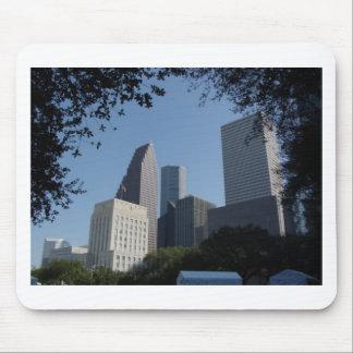 Houston Texas Skyline Mouse Pad