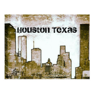Houston Texas Skyline (Postcard) Postcard