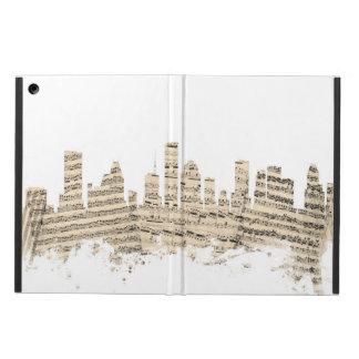 Houston Texas Skyline Sheet Music Cityscape iPad Air Case