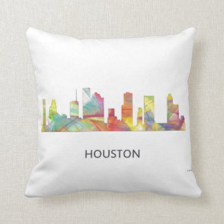 HOUSTON TEXAS SKYLINE WB1 - CUSHION