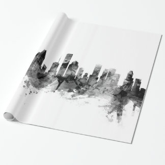 Houston Texas Skyline Wrapping Paper