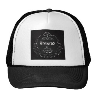 Houston, Texas - Space City Mesh Hats