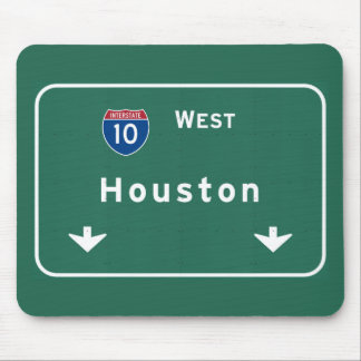 Houston Texas tx Interstate Highway Freeway Road : Mouse Pad