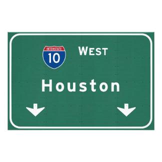 Houston Texas tx Interstate Highway Freeway Road : Photo