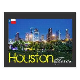 Houston, Texas, U.S.A. Postcard