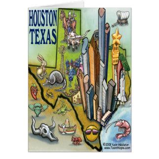Houston TX Greeting Card