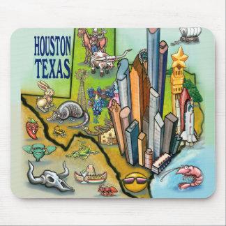Houston TX Mouse Mat