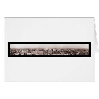 Houston TX Panoramic Photo 1910 Greeting Card