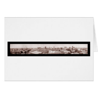 Houston TX Panoramic Photo 1911 Greeting Card