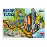 Houston TX Postcard