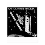 Houston, We Have A Problem Postcards