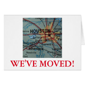 Houston We've Moved address announcement