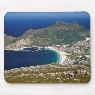 Hout Bay, The Sentinel And Atlantic Ocean Mouse Pad