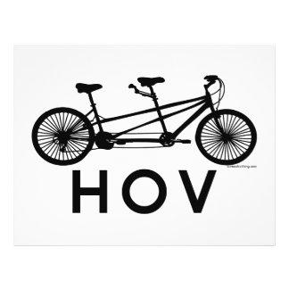 HOV Tandem Bicycle 21.5 Cm X 28 Cm Flyer
