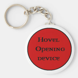Hovel Opening Device keychain