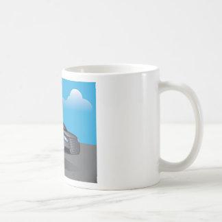 Hover Car vector Basic White Mug