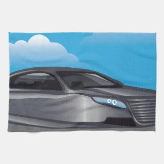 Hover Car vector Towel