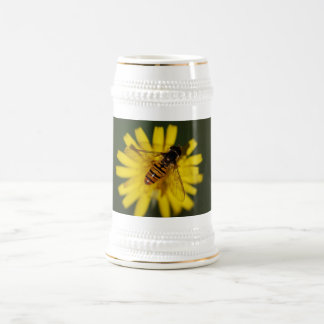 Hover Fly Photo Beer Steins