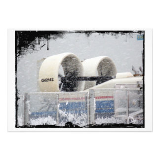 Hovercraft Propellors in Snow card Announcements