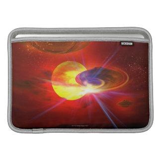 Hovering UFOs MacBook Sleeves