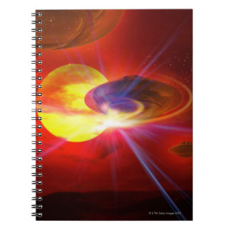 Hovering UFOs Notebook