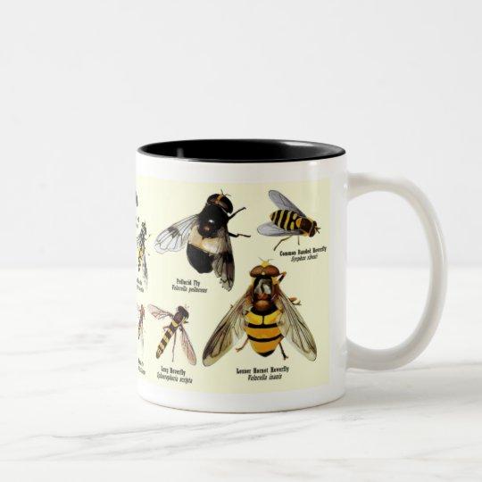 Hoveryfly Mug - 2 tone