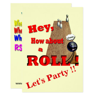 How About a Roll ? Card
