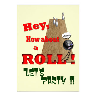 How About a Roll ? Invitation