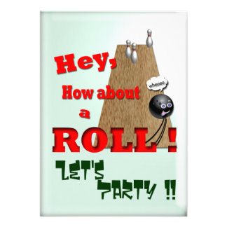 How About a Roll ? Personalized Invitation