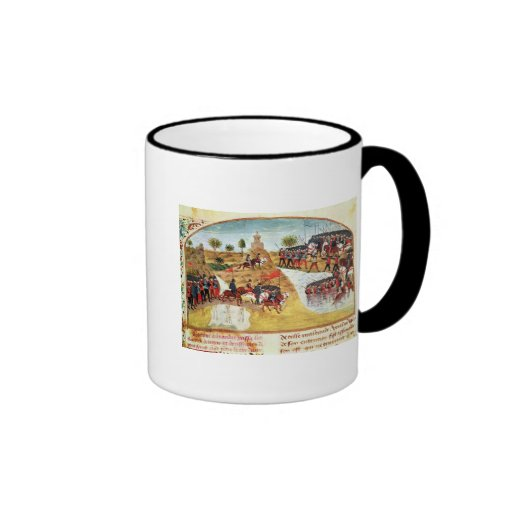 How Alexander the Great  crossed the Tigris Coffee Mugs