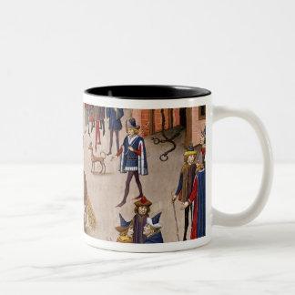 How Alexander the Great  Mounted Bucephalus Two-Tone Mug