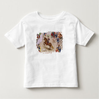 How Alexander the Great  Mounted Bucephalus Toddler T-Shirt