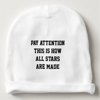 How All Stars Are Made Baby Beanie