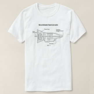 How An Automatic Transmission Works T-Shirt