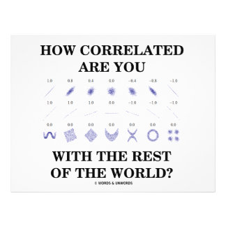 How Correlated Are You With The Rest Of The World? Flyers