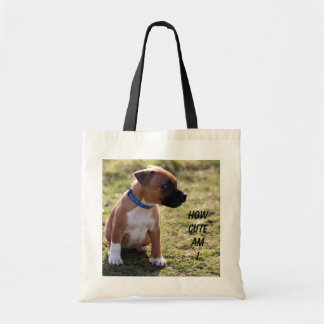 how cute am i budget tote bag