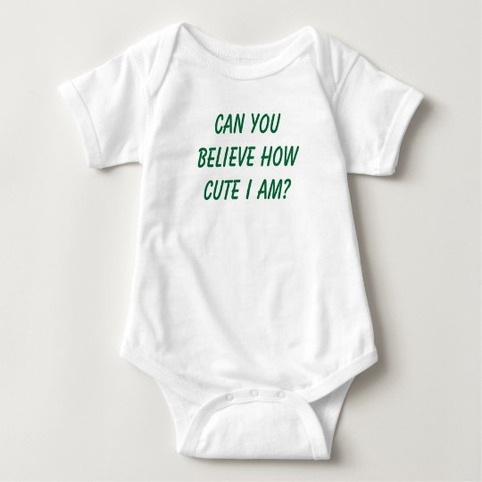 How cute baby bodysuit