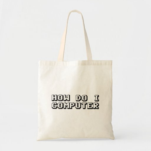 How Do I Computer Canvas Bags