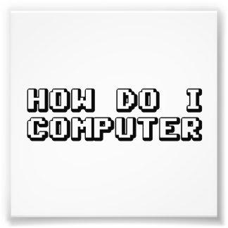 How Do I Computer Photo