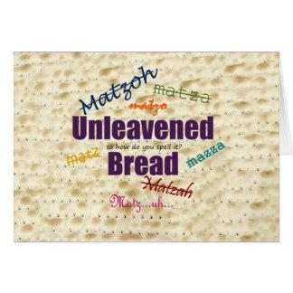 How Do You Spell Matzah? Greeting Card