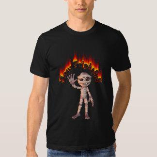 How Frightful Cute Friendly Mummy Tshirt